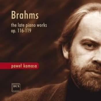 Brahms. The late piano Works op. 116-119