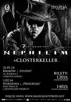 Fields Of The Nephilim w Katowicach