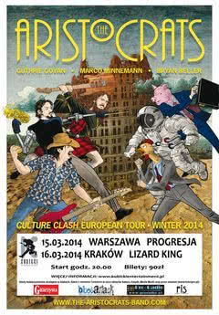 Dwa koncerty The Aristocrats w najbliższy weekend