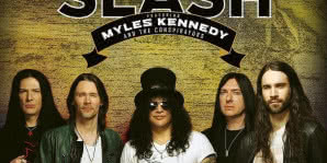 SLASH feat. Myles Kennedy and The Conspirators w Łodzi