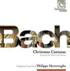 PHILIPPE HERREWEGHE Bach: Advent and Christmas Cantatas