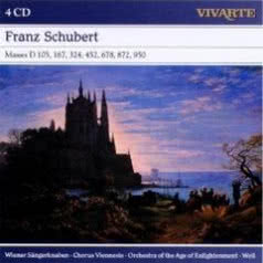 WIENER SANDERKNABBEN, CHORUS VIENESSIS, ORCHESTRA OF THE AGE OF ENLIGHTENMENT, W Franz Schubert: Masses D 105, 167, 324, 452, 678, 872, 950