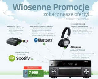 Wiosenne promocje w salonach Top Hi-Fi & Video Design