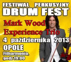 Mark Wood Experience Trio na festiwalu Drum Fest