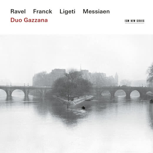 DUO GAZZANA Ravel Franck Ligeti Messiaen