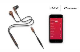 Pioneer Rayz - słuchawki współpracujące z aplikacją na iOS