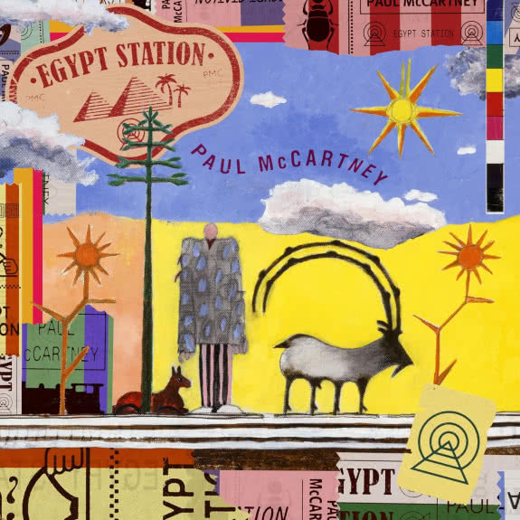 <span>PAUL McCARTNEY</span> Egypt Station