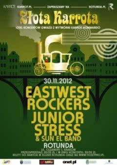 Eastwest Rockers i Junior Stress & Sun El Band w Krakowie