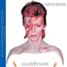 DAVID BOWIE Aladdin Sane 40th Anniversary Edition