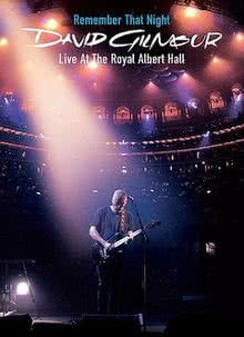 DAVID GILMOUR Remember That Night - Live (dvd)