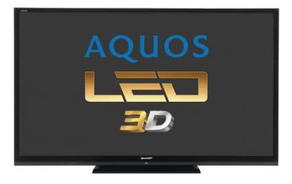 Sharp Aquos LED 3D LC-80LE657