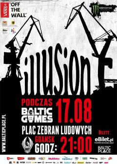 Illusion zagrają na Baltic Games