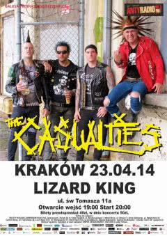 The Casualties w Krakowie