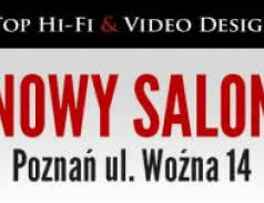 Nowy adres salonu Top Hi-Fi & Video Design w Poznaniu