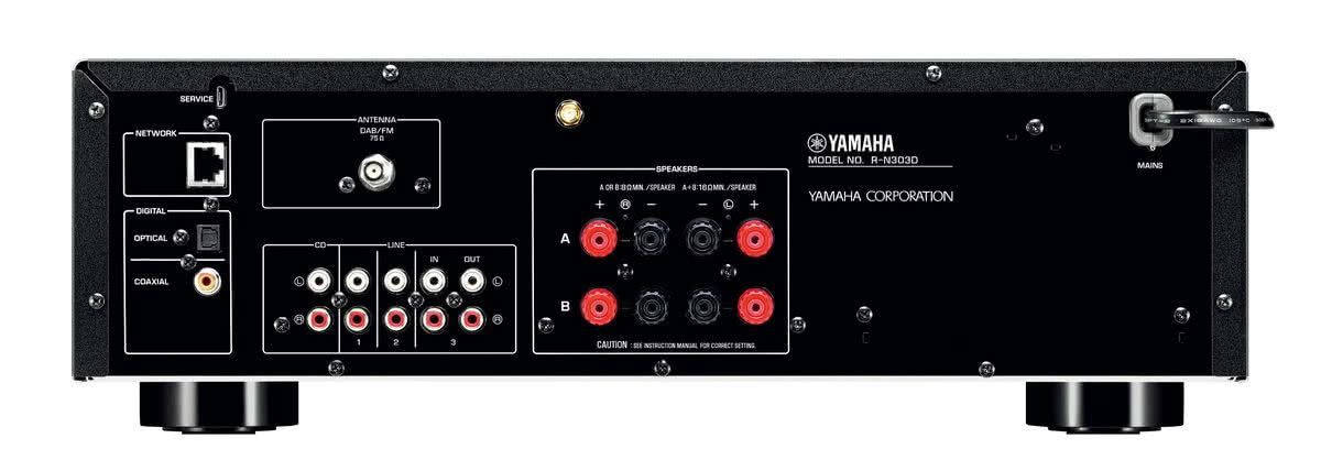 Amplituner stereo yamaha musiccast r n303d for Yamaha musiccast spotify