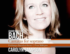 Jan Sebastian Bach. Cantatas for Soprano