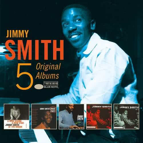 JIMMY SMITH 5 Original Albums