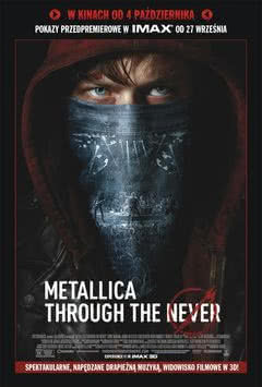"""Metallica Through The Never"" przedpremierowo w kinach IMAX"