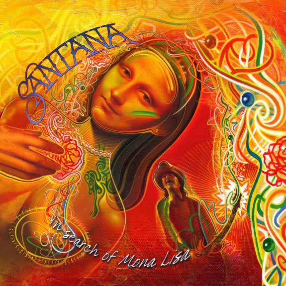 <span>SANTANA</span> In Search of Mona Lisa