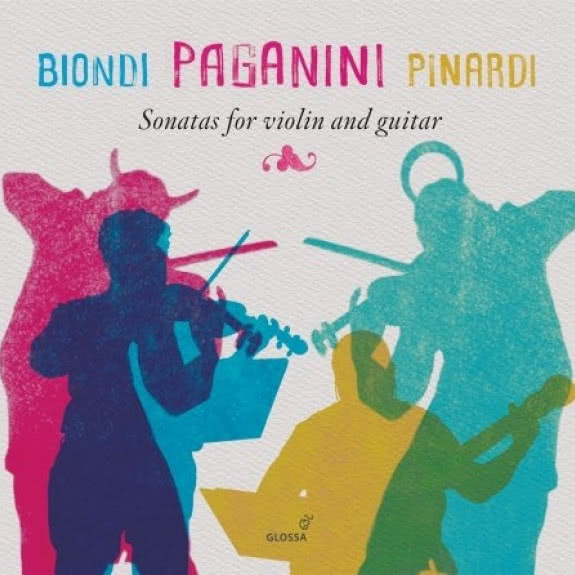 <span>BIONDI PAGANINI PINARDI</span> Sonatas for Violin and Guitar