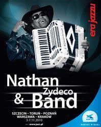 Nathan Williams & Zydeco Band podczas Ery Jazzu