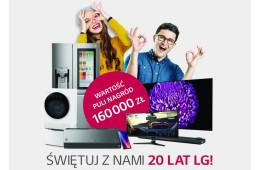 Wielka loteria z okazji 20-lecia LG w Polsce