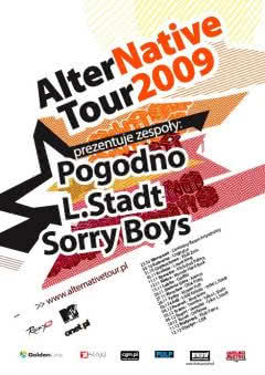 Pogodno, L.Stadt i Sorry Boys na AlterNative Tour 2009