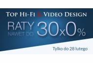 """Raty 0%"" w Top Hi-Fi & Video Design"