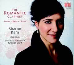 SHARON KAM Romantic Clarinet