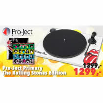Limitowany gramofon Pro-Ject Primary The Rolling Stones Edition w Q21