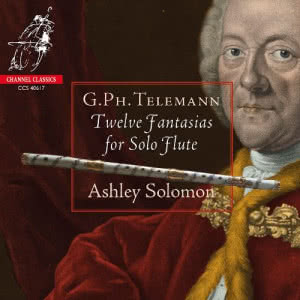 Telemann: Twelve Fantasias for Solo Flute