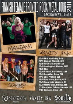 Finnish Female Fronted Tour 2011