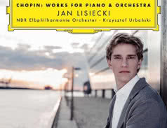 <span>JAN LISIECKI</span> Chopin: Works for Piano &amp; Orchestra