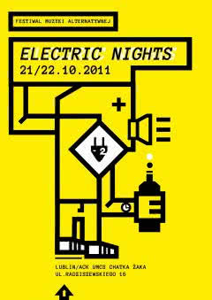 Electric Nights Festival 2011. Brodka, Riverside, The Legendary Pink Dots...