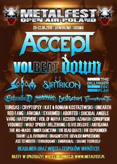 The Dillinger Escape Plan na MetalFest 2013