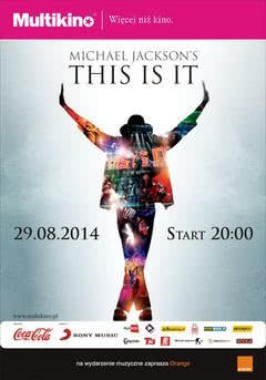 """This Is It"" - film o Michaelu Jacksonie na ekranach kin"