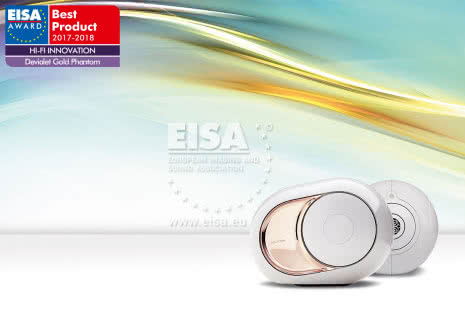 EISA 2017-2018: Devialet Gold Phantom