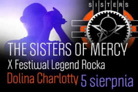 The Sisters Of Mercy w Dolinie Charlotty