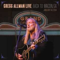 GREGG ALLMAN Back to Macon, GA