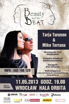 Beauty and the Beat, czyli Tarja Turunen i Mike Terrana we wspólnym projekcie