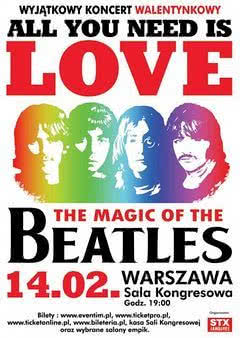 Magic Of The Beatles: Walentynki w Sali Kongresowej