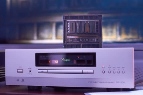 "CD ""Dyjak Gintrowski"" i Accuphase DP-560"