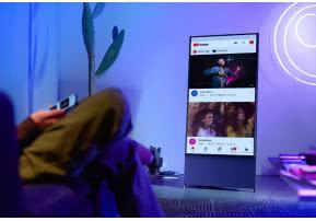Telewizor Samsung The Sero już dostępny w salonach sprzedaży