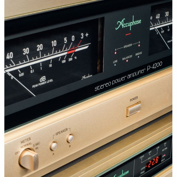 ACCUPHASE P-4200 + C-2120