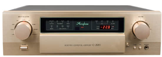 Accuphase C-2120.