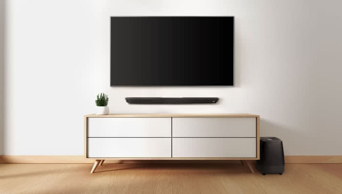 Soundbar Polk Audio MagniFi 2 + subwoofer