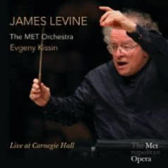 JAMES LEVINE / MET /  E. KISSIN Live at Carnegie Hall
