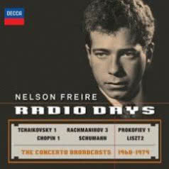 NELSON FREIRE Radio Days. Concerto Broadcasts 1968-1979