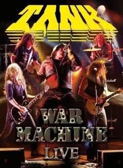 War Machine Live: DVD Tank w listopadzie