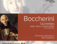 <span>ENSEMBLE EXPLORATIONS</span> Boccherini: Quintettes